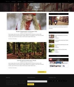 zipson blogger template 2016