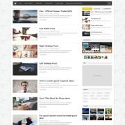 dzine blogger template