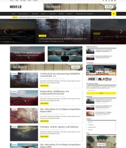 novelo blogger template