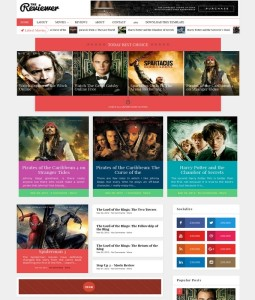 reviewer blogger template