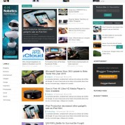 tech life blogger template