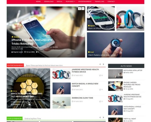 technext blogger template