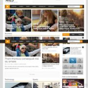 ares blogger template