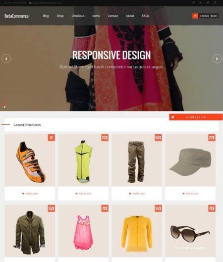 beacommerce blogger template