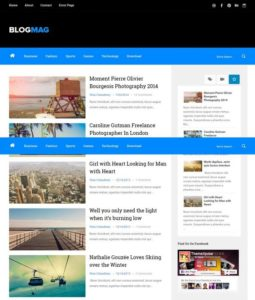 Blogmag Blogger Template