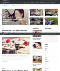LiteMag Blogger Template