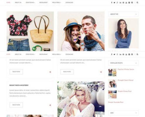 Blogstar Blogger Template