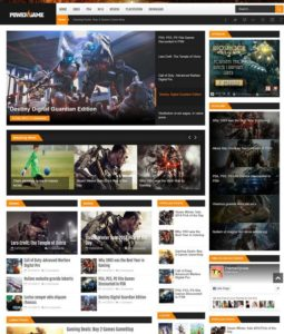 PowerGame Blogger Template