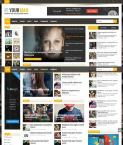 YourMag Blogger Template