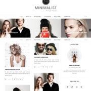 Minimalist Blogger Template