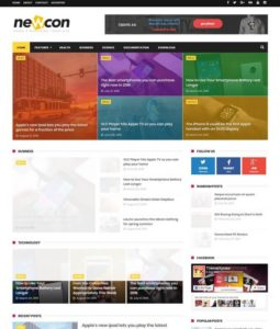 Business blogger templates 2018 free download newcon blogger template wajeb Image collections