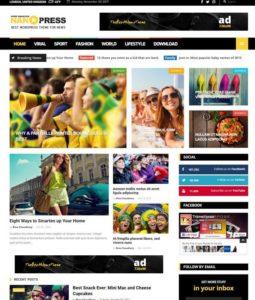 Drop Down Menu Blogger Templates 2018 Free Download