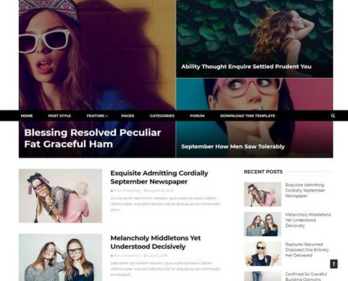 EveryDay Blogger Template