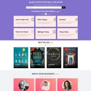 BooksCart Blogger Template