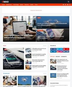 Gmag Blogger Theme