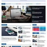 NewSpeed Blogger Template