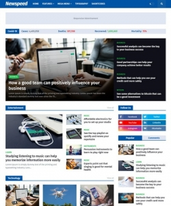 NewSpeed Blogger Template