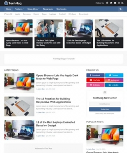 TechMag Blogger Template