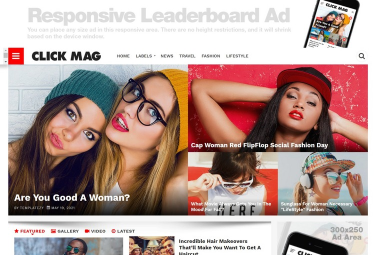 ClickMag Blogger Template